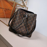 Kuyou Lv Louis Vuitton Gb29714 M44022 Monogram Brown Black Handbags Cross Body Bags Neonoe 26*22*27cm