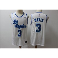 LA Lakers 3 Anthony Davis Latin Version Jersey