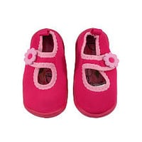 Babies R Us Girls Pink Water Shoes