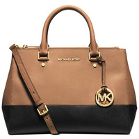MICHAEL Michael Kors Sutton Medium Colorblock Satchel