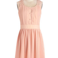 ModCloth Mid-length Sleeveless A-line Surprise to the Top Dress