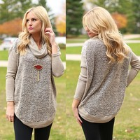 Boucle Up For Style Sweater