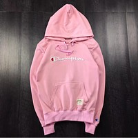 Champion Autumn clothes for lovers and lovers Pink