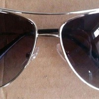 Ray-Ban RB3293 Large Silver Grey Gradient Unisex Aviator Sunglasses