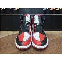 Nike Air Jordan 1 High Retro HOMAGE TO HOME Men Sneaker Women 555088-231