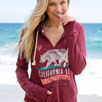 Billabong - Days Off Hoodie | Burgundy Heather