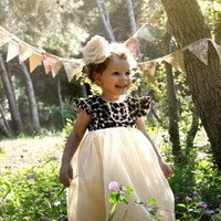 """Stunning Leopard Jewel Dress Rock Star """"Pink"""" Just bought this for her little girl! - Children's Fall Clothing 2012 - Cassie's Closet"""