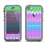 The Bright-Colored Knit Pattern Apple iPhone 5c LifeProof Nuud Case Skin Set
