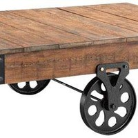 Industrial Maison Coffee Table - Coffee Tables -  Living Room Furniture -  Furniture | HomeDecorators.com