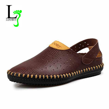 Hot Sales Summer Men's Moccasin Shoes Drviers for Men Sneakers Mens Casual Sapatilhas Shoes Masculinos Sapato Social