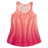 Mossimo Supply Co. Juniors Lace Dip Dye Tank - Assorted Colors