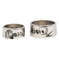The Nightmare Before Christmas True Love Never Dies Ring Set | Hot Topic