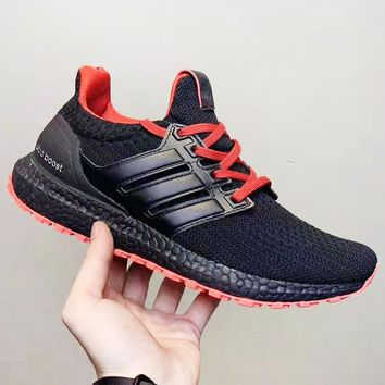 Adidas Game of thrones UitraBoost New fashion couple running shoes Black