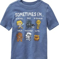 Old Navy Star Wars Tees For Baby