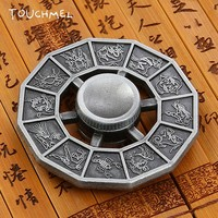 TOUCHMEL 12 constellation Fidget Spinner Hand Spinner  EDC  Fidget Toy Anxiety Stress Adults  Metal Spinner