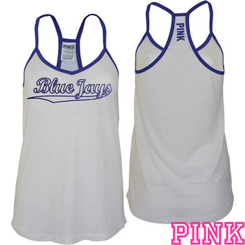 Toronto Blue Jays Victoria's Secret PINK® Strappy V-Neck Tank - MLB.com Shop
