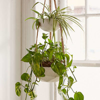 Ellis Double Hanging Planter | Urban Outfitters