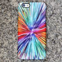 Abstract Color Painting iPhone 6 iPhone 6 plus Case Blue iPhone 5S 5 iPhone 5C iPhone Case Samsung Galaxy S6 edge S6 S5 S4 Note 3 Case 045