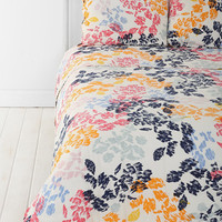 Urban Outfitters - Plum & Bow Sketched Leaf Sham - Set Of 2