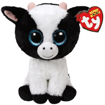 """TY Beanie Boos Butter the Cow Small 6"""""""