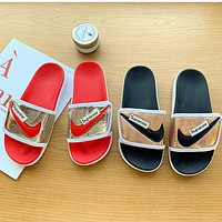 Nike new sandals and slippers women's platform shoes