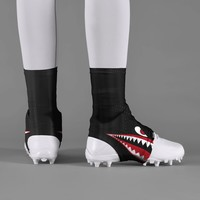 War Shark Blackout Spats / Cleat Covers