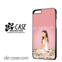 Yours Truly Ariana Grande DEAL-12179 Apple Phonecase Cover For Iphone 6/ 6S Plus