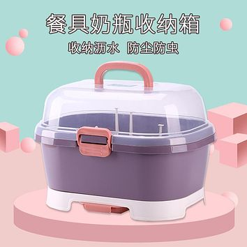 Dry Baby Baby Bottles Buy Object Shelf Bin Drop Assist Food Tableware Receive Cassette Cover Dust And Dry
