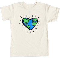 Love the Planet Tee | Wolf Pup Threads | Eco-Friendly Kid's Clothing