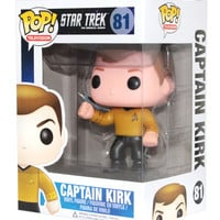 Captain James Kirk Star Trek FUNKO Pop Vinyl