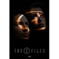 """X-Files The poster Metal Sign Wall Art 8in x 12in 12""""x16"""""""