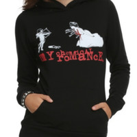 My Chemical Romance Cupid Pullover Hooded Girls Sweatshirt