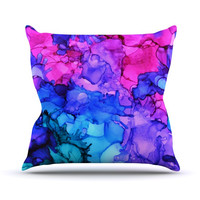 """Claire Day """"Audrey"""" Outdoor Throw Pillow, 16"""" x 16"""" - Outlet Item"""