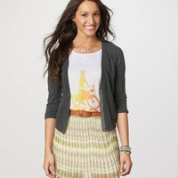 AE Cotton Cardigan | American Eagle Outfitters