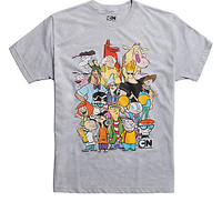 Cartoon Network Characters Collage T-Shirt