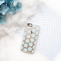 Cute iPhone 6s & 6s Plus Case (Blue Clam Shells Pattern) by Casetify