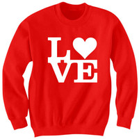 Valentines Day Sweatshirts LOVE Sweatshirts With Words I Love You Shirts Cute Shirts #Love Funny Gifts Valentines Day Gift Special Gifts