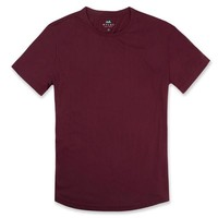 Everyday Tee in Oxblood