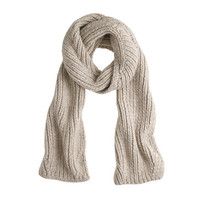 J.Crew Womens Long Ribbed Scarf