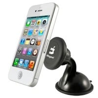 iMagnet Cradle-less Magnetic Mount with Quick-snap Technology, Smartphone Car Windshield Dashboard Universal Holder:Amazon:Cell Phones & Accessories