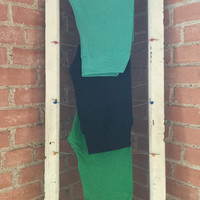 Adult Leggings, One Size Grass Green