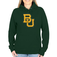 Baylor Bears Ladies Gameday Mascot Pullover Hoodie - Green