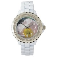 Poppy flower and its meaning wrist watches