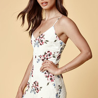 Kendall and Kylie Textured Dot Romper at PacSun.com