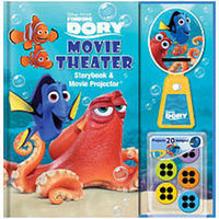 Disney Pixar Finding Dory Movie Theater Storybook and Movie Projector