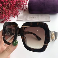 Gucci Women Men Casual Sun Shades Eyeglasses Glasses Sunglasses