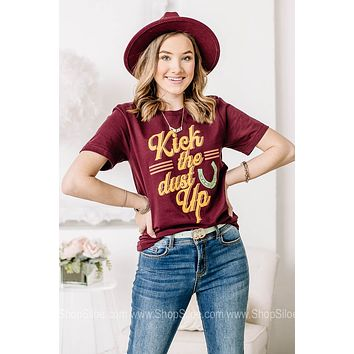 Kick The Dust Up Graphic Tee