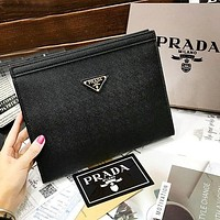 Prada Bag Fashion Women Men Handbag Bag Makeup Bag