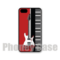 Making Music Guitar Keyboard Iphone 4, 4s, 5, 5s, 5c Personalized iPhone Case #211
