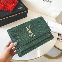 Ysl Leather Shoulder Bag Crossbody #3065